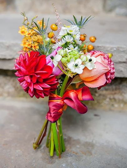 Red Orange Small Bouquet
